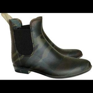 Jcrew Camo Chelsea Rain Boot